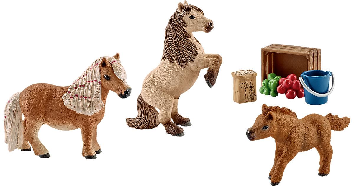 Schleich 41432 Horse Club: Mini Shetty Familie