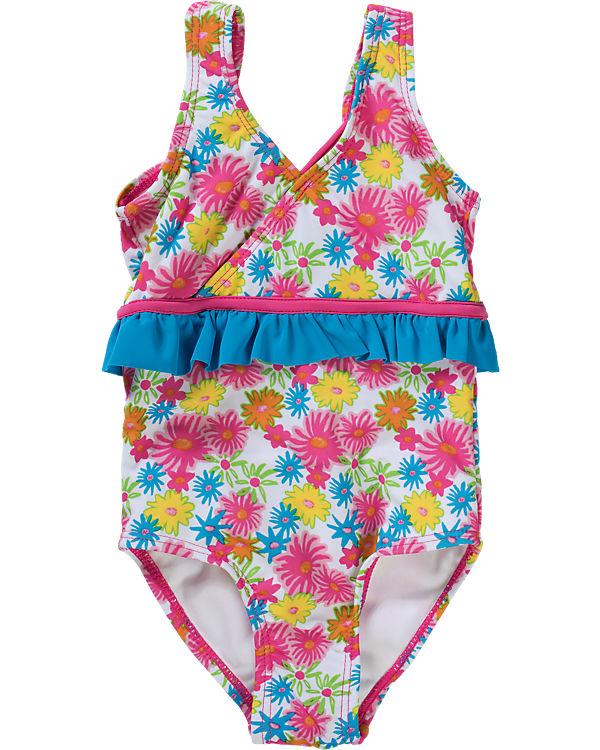 new arrival b5fbd aedfd UV-Schutz Badeanzug BLUMEN für Mädchen, Playshoes