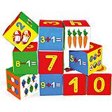 Набор кубиков «Умная математика», Мякиши