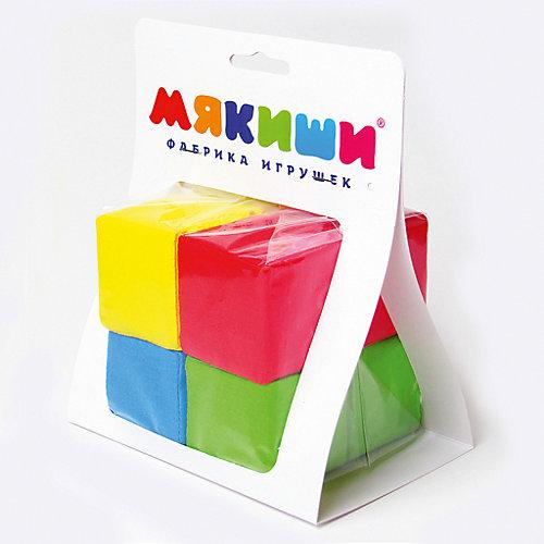 """Кубики """"Четыре цвета"""", Мякиши от Мякиши"""