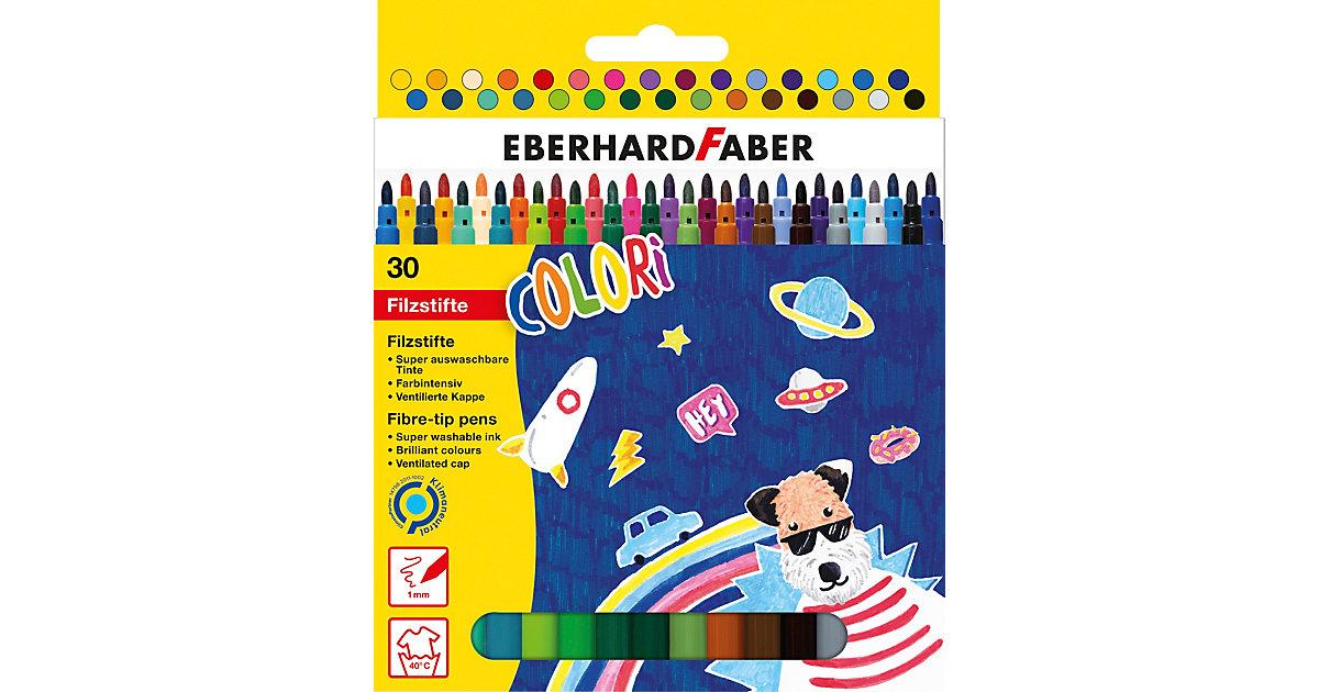 Eberhard Faber Filzstifte, dünn 30er Etui