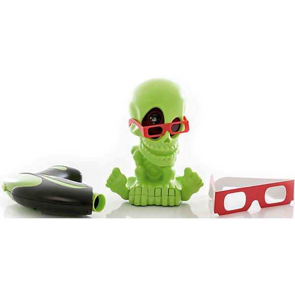 Тир проекционный 3D Джонни-Черепок  с 2-мя бластерами, Johnny the Skull