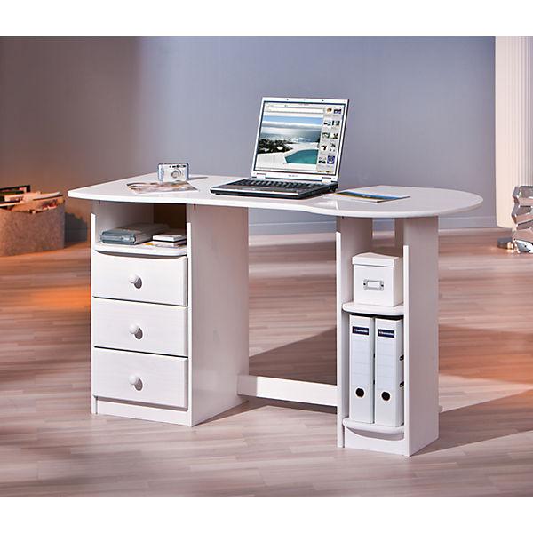 Computertisch Touchround Weiß Mytoys
