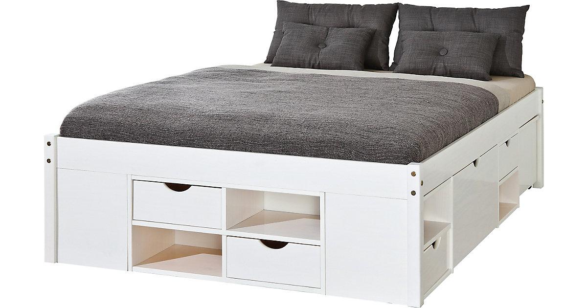 metallbett wei 140x200 preisvergleich die besten angebote online kaufen. Black Bedroom Furniture Sets. Home Design Ideas