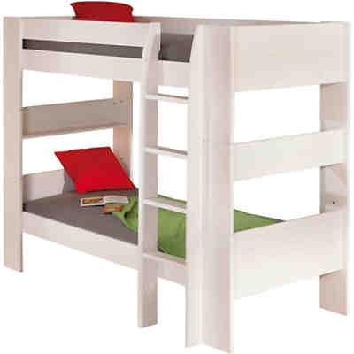 etagenbett tam tam 90 x 200 cm wei pink blau. Black Bedroom Furniture Sets. Home Design Ideas