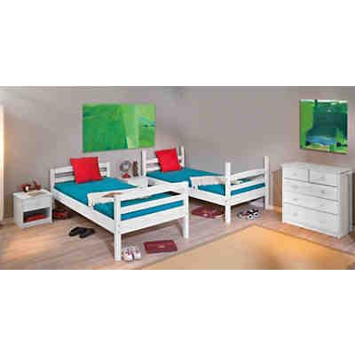 etagenbett tolky kiefer massiv wei 90x190 cm 2 - Etagenbett Couch Lego Film