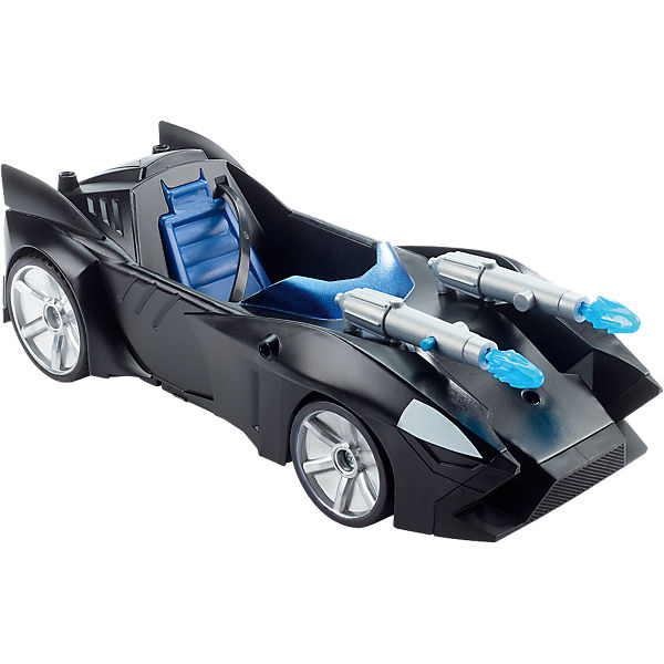 dc justice league doppelblaster batmobil 30 cm batman mytoys. Black Bedroom Furniture Sets. Home Design Ideas
