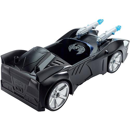 """Машинка Batman """"Лига Правосудия"""" Бэтмобиль для фигурок от Mattel"""