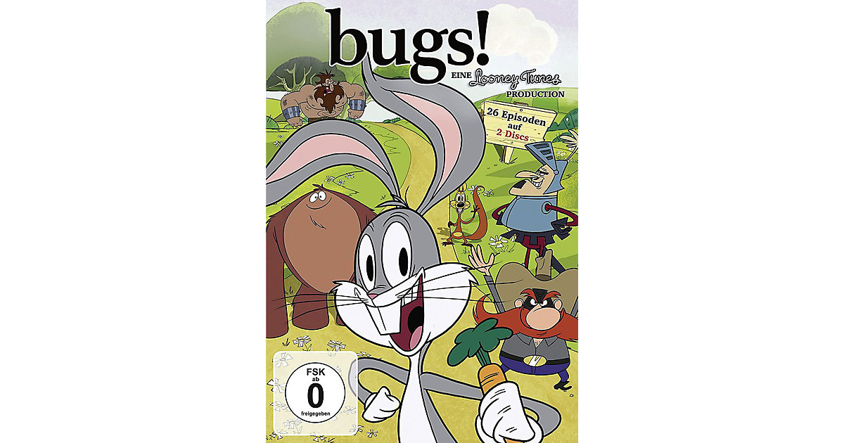 DVD Looney Tunes: Bugs! - Season 1.1 (2 DVDs) Hörbuch