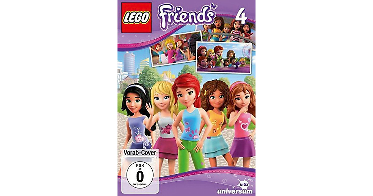 DVD LEGO Friends 4