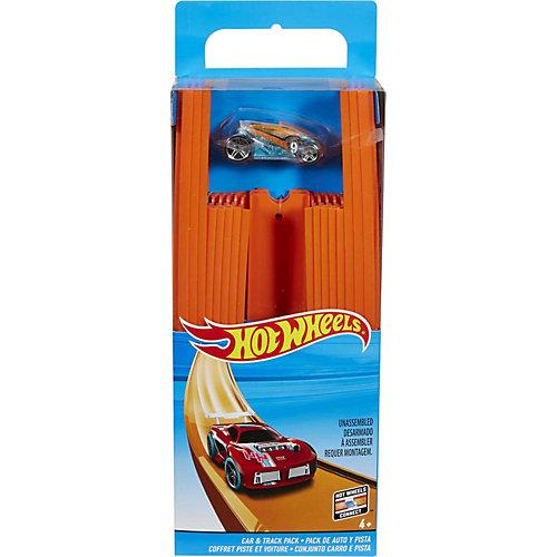 Mattel Hot Wheels Track Builder Gerade Rennbahn