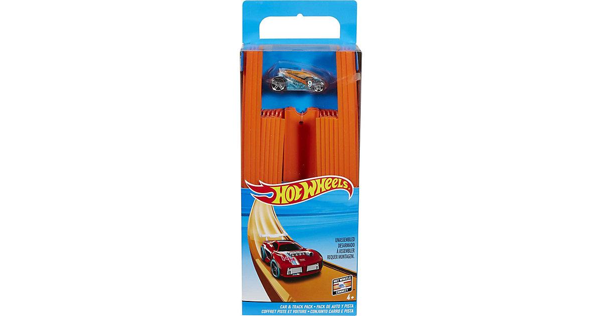 Hot Wheels Track Builder Unlimited Gerade Rennbahn 4,5 m inkl. 1 Spielzeugauto