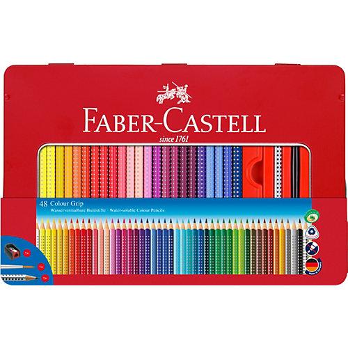 Цветные карандаши Faber-Castell Grip, 48 цветов от Faber-Castell