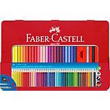 Цветные карандаши Faber-Castell Grip, 48 цветов