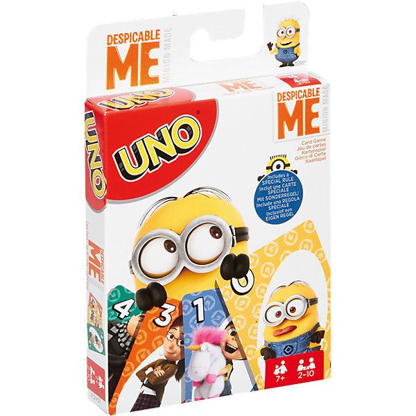 Mattel Games UNO Ich - einfach unverbesserlich, Minions