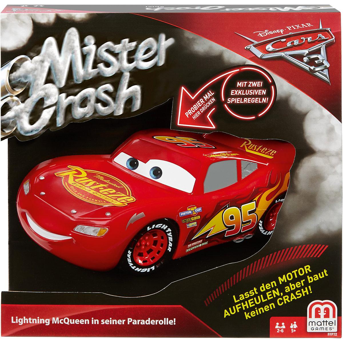 mattel games mister crash cars 3 disney cars mytoys. Black Bedroom Furniture Sets. Home Design Ideas