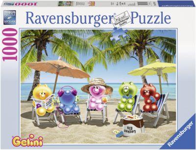 Puzzle 1000 Teile Spiel Deutsch 2017 Puzzles Spieleabend bei den Gelini