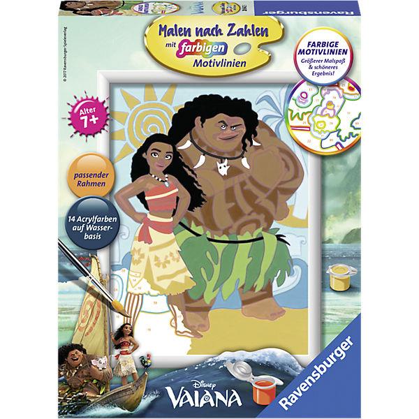 Malen Nach Zahlen Vaiana Und Maui Disney Vaiana