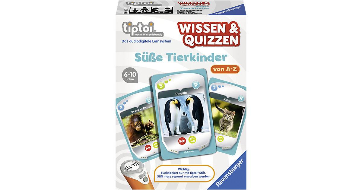 tiptoi® Wissen & Quizzen: SüßeTierkinder (ohne Stift)