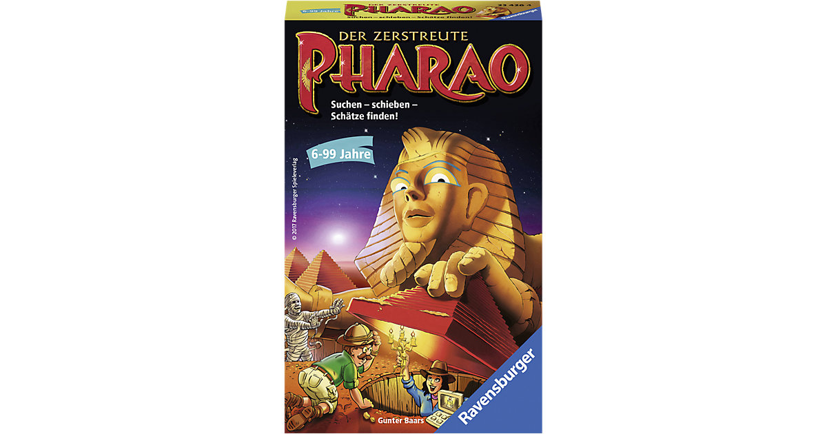 Mitbringspiel Der zerstreute Pharao