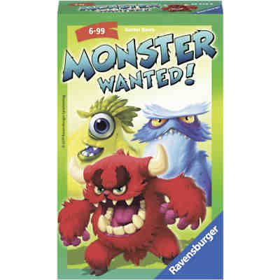 Mitbringspiel Monster Wanted