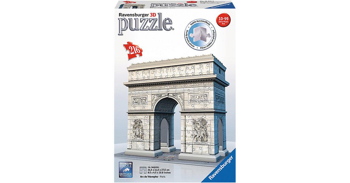 3D Puzzle 216 Teile Arc de Triomphe
