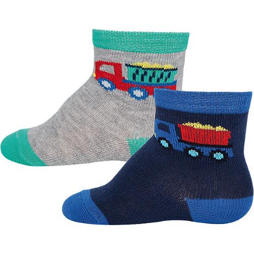 ewers Baby Socken Doppelpack , LKW Gr. 19-22 Jungen Kinder Sale Angebote Grabko