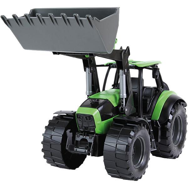 Worxx Traktor Modell Deutz-Fahr Agroton 7250 TTV, Braunkarton, LENA