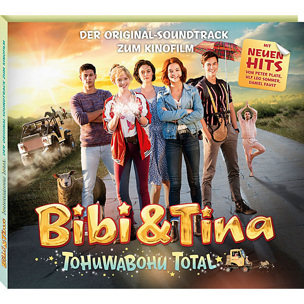CD Bibi & Tina 4 - Tohuwabohu Total - Original Soundtrack zum Kinofilm