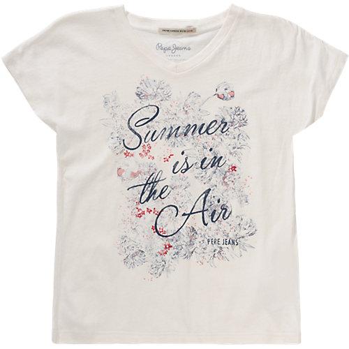 Pepe Jeans T-Shirt CHERRY Gr. 176 Mädchen Kinder Sale Angebote Drieschnitz-Kahsel