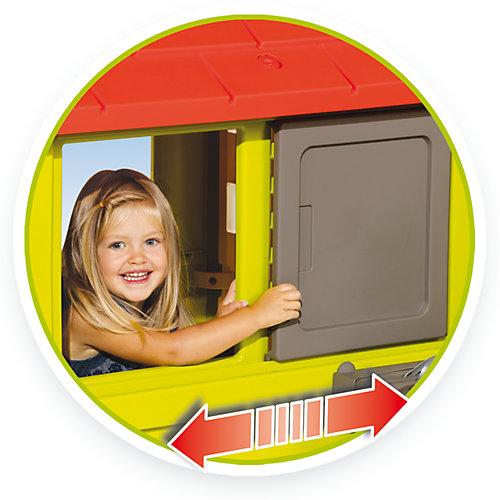 Игровой домик Smoby с кухней, красный от Smoby