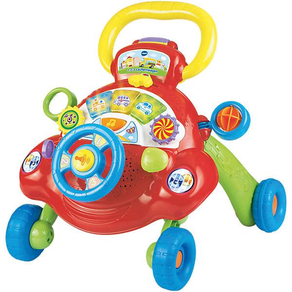 73e40e73cbb4ea 1-2-3 Lauflernwagen mit Spielboard