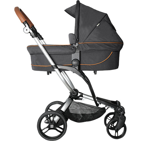 Kombi Kinderwagen JEREMY, fishbone graphite