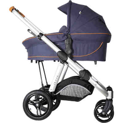 Kombi Kinderwagen JOEL AIR, fishbone navy