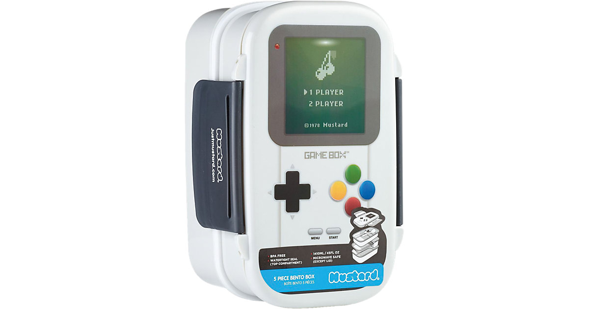 Lunchbox ´´Game Boy´´ inkl. Besteck
