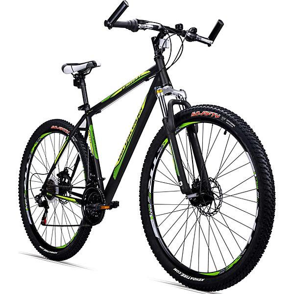 jugendfahrrad mountainbike detroit 29 zoll schwarz. Black Bedroom Furniture Sets. Home Design Ideas