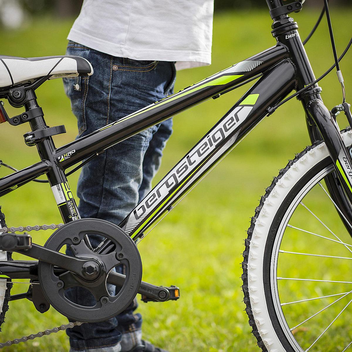 jugendfahrrad mountainbike kansas 20 zoll schwarz. Black Bedroom Furniture Sets. Home Design Ideas