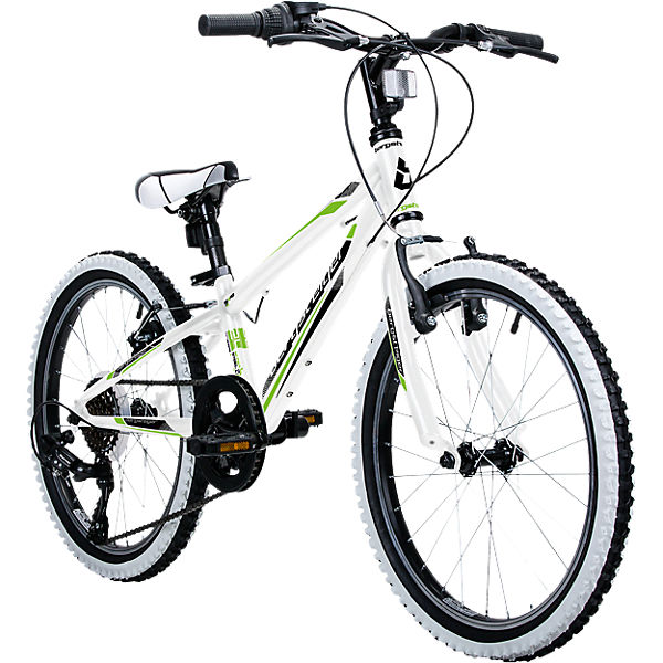 jugendfahrrad mountainbike kansas 24 zoll wei. Black Bedroom Furniture Sets. Home Design Ideas