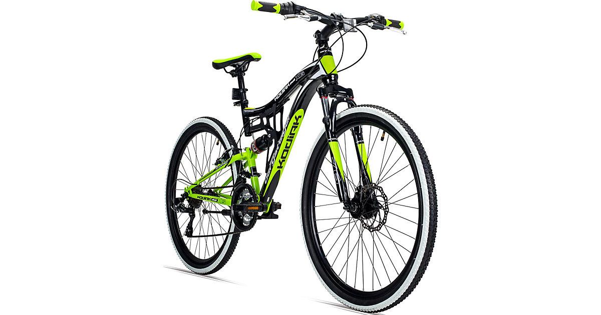Bergsteiger · Jugendfahrrad Mountainbike Kodiak 26 Zoll, grün