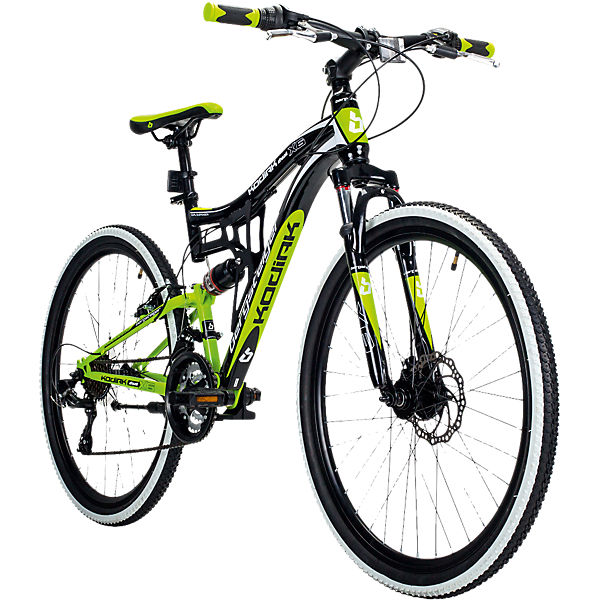 jugendfahrrad mountainbike kodiak 26 zoll gr n. Black Bedroom Furniture Sets. Home Design Ideas
