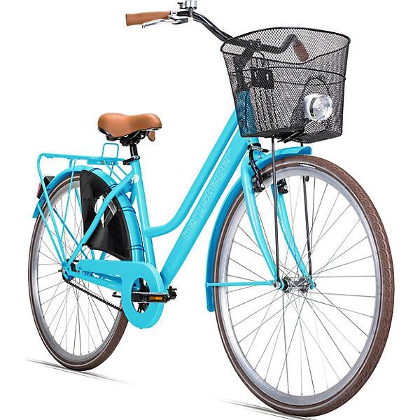 jugendfahrrad amsterdam 28 zoll blau bergsteiger fahrrad mytoys. Black Bedroom Furniture Sets. Home Design Ideas