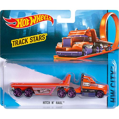 "Машинка Hot Wheels ""Грузовик-трейлер"" от Mattel"