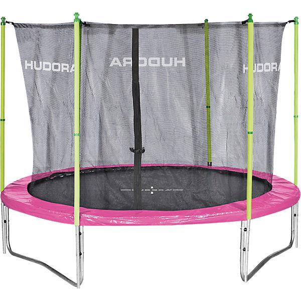 fitness trampolin 300v pink gr n hudora mytoys. Black Bedroom Furniture Sets. Home Design Ideas