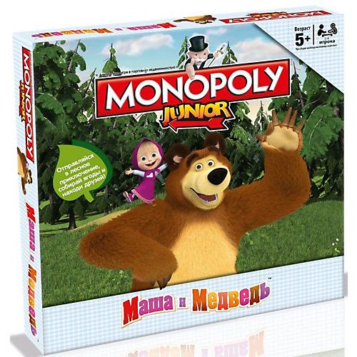 """Настольная игра """"Монополия """"Маша и Медведь"""" от Hasbro"""