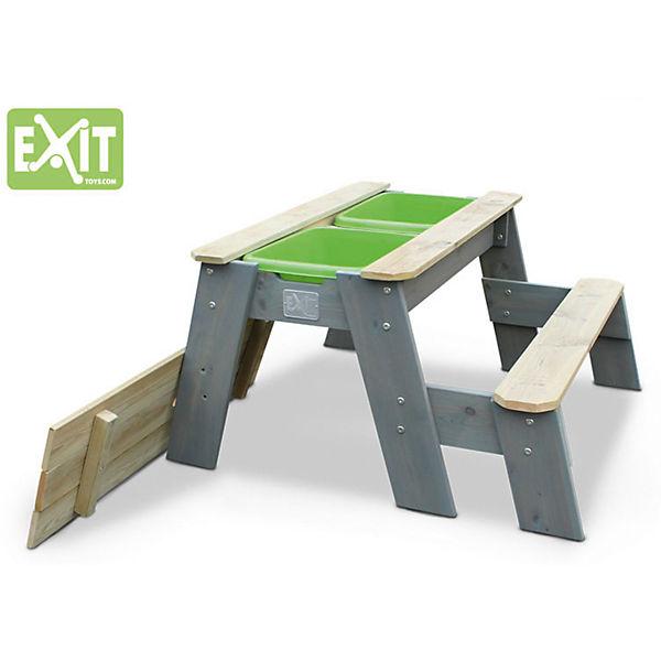 exit aksent sand wasser und picknicktisch 1 sitzfach exit mytoys. Black Bedroom Furniture Sets. Home Design Ideas