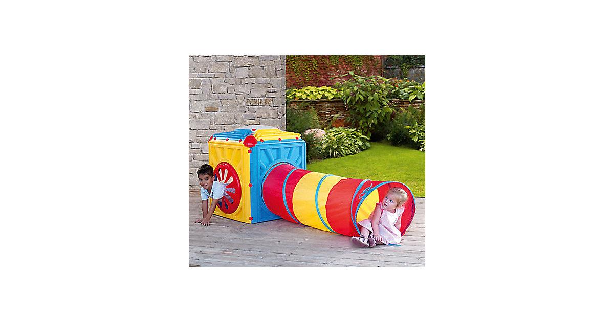 Aktivitätswürfel inkl. Tunnel mehrfarbig   Kinderzimmer > Kinderbetten > Baldachine & Tunnels   STARPLAST