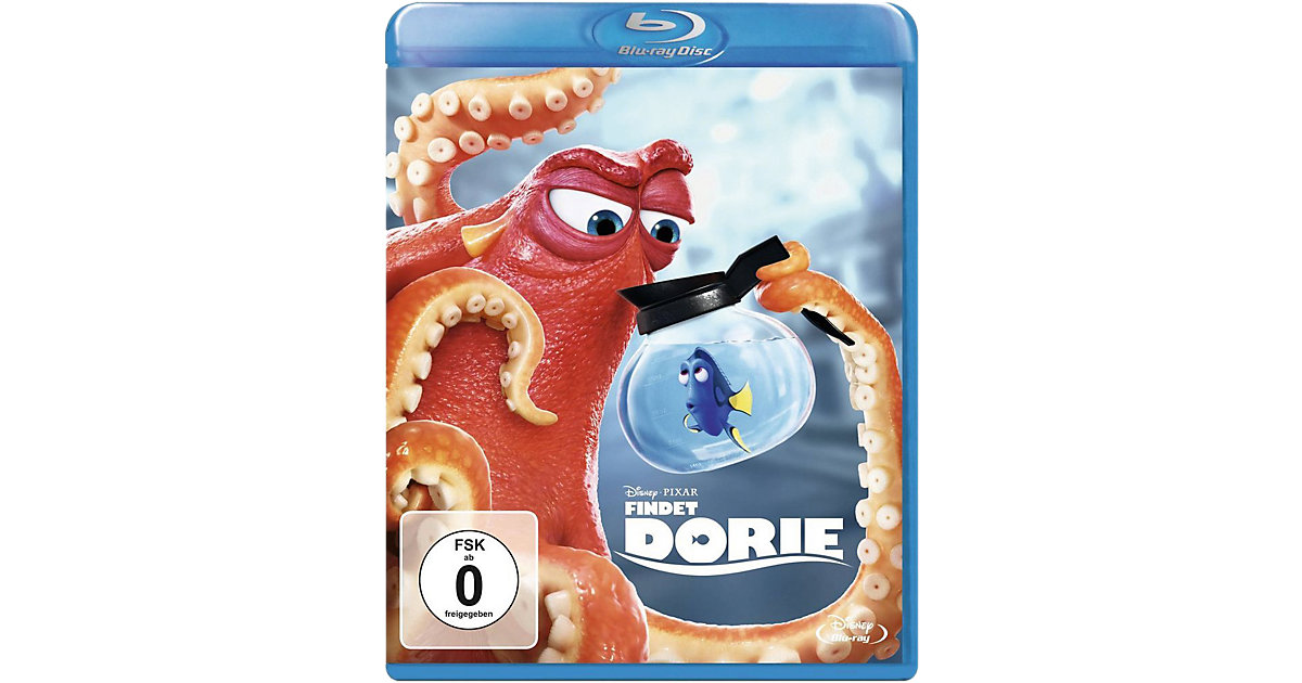 BLU-RAY Disney's - Findet Dorie Hörbuch