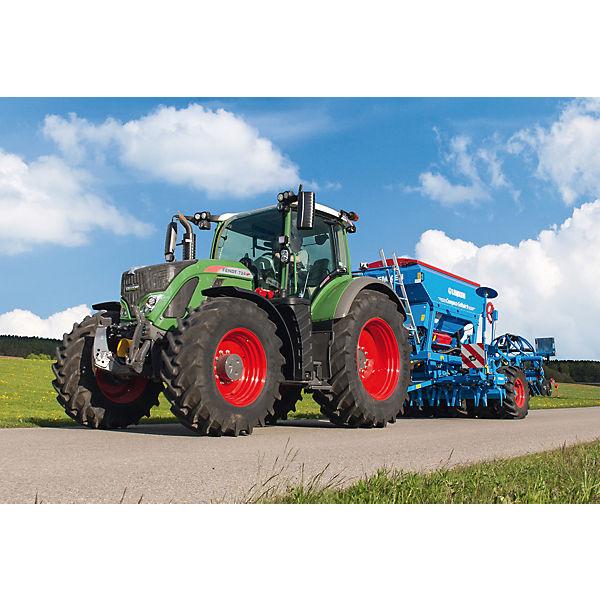 Kinderpuzzleset 3 1050 x 48 Teile, Traktor Fendt 1050 3 Vario/724 Vario/6275L, Schmidt Spiele cc9b97