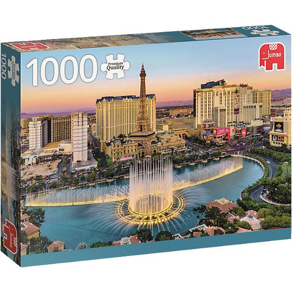 Puzzle 1000 Teile - Las Vegas, Jumbo