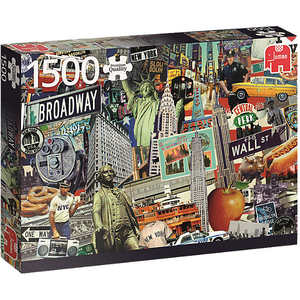 Puzzle 1500 Teile - Best of… New York
